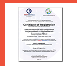 ISO 9001, TS 16949 certs
